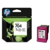 Tusz HP 704 do Deskjet Ink Advantage 2060  200 str.  CMY