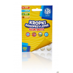 Kropki samoprzylepne Glue dots ASTRA, 401119002