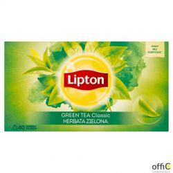 Herbata LIPTON GREEN CLASSIC 40t zielona