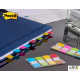 Zakładki indeksujące POST-IT 16x38mm silne mix 4 kolory 676-AYPV-EU 3M