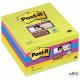 Bloczki 3M POST-IT 675-6SS 100x100mm linia Super Sticky 6x90k 70005253334