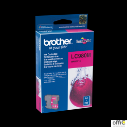 Tusz BROTHER (LC980M) purpurowy 260str DCP-145C/165C/ MFC-250C