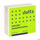 Kostka samoprzylepna DOTTS 75x75 400 kartek tęczowa (NSKT/D)