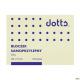 Bloczek samoprzylepny DOTTS 75x100 żółty 100 kartek (NS100/75/D)
