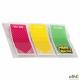Zakładki indeksujące POST-IT_ (682-TODO), PP, 23,8x43,2mm, 3x20 kart., mix kolorów