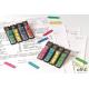 Zakładki indeksujące POST-IT_ (684-ARR4), PP, 12x43mm, strzałka, 4x24 kart., mix kolorów neonowy