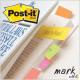 Znaczniki POST-IT (670/5), papier, 15x50mm, 5x100 kart., mix kolorów neonowy