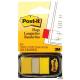 Zakładki indeksujące POST-IT 25x43mm żółte 680-5 50sztuk 3M-UU008015081