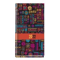 Kalendarz Koliber 2022 tydzień na 2 stronach T-320F-01 Michalczyk i Prokop