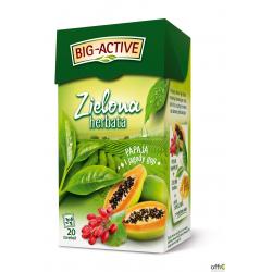 Herbata BIG-ACTIVE PAPAJA-JAG.GOJI zielona 20t
