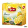 Herbata LIPTON PIRAMID cytryna (20 saszetek)