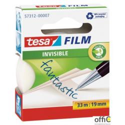 Taśma biurowa TESA INVISIBLE 19x33m 57312-0007-02