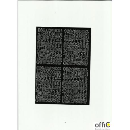LITERY samop.0.7cm(8) czarne ARTDRUK