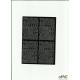 LITERY samop. 0.7cm (8) czerwone ARTDRUK