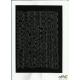 LITERY samop. 2cm (8) czarne ARTDRUK