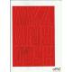 LITERY samop. 8cm (8) czerwone ARTDRUK
