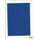 LITERY samop. 5cm (8) niebiesk ARTDRUK