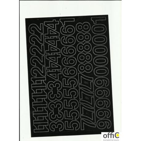 CYFRY samop. 3cm (8) czarne ARTDRUK