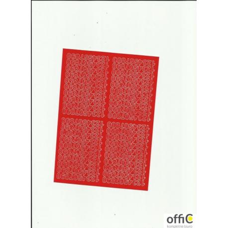 CYFRY samop.0.7cm(8) białe ARTDRUK