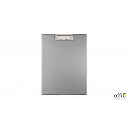 Deska z klipsem A4 silver KKL-01-01 BIURFOL