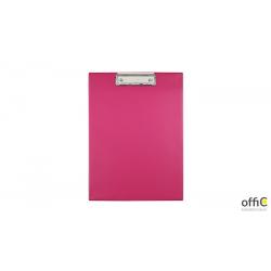 Deska z klipsem A4 pink BIURFOL KKL-01-03 (pastel różowy )