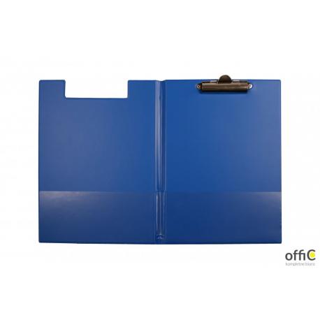 Teczka z klipsem A4 niebieska KL-04 BIURFOL