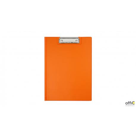 Teczka z klipsem A4 orange BIURFOL KKL-04-04 (pastel pomara.)