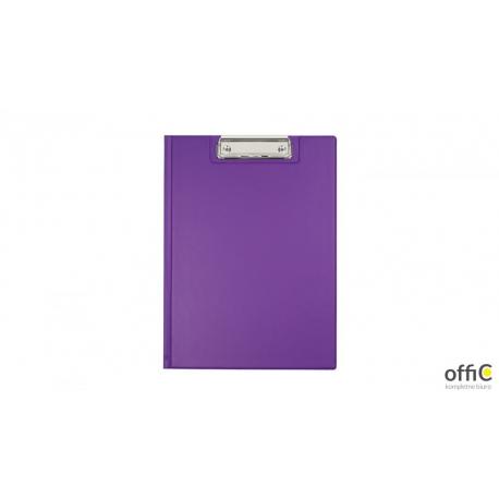 Teczka z klipsem A4 violet BIURFOL KKL-04-05 (pastel fiolet.)