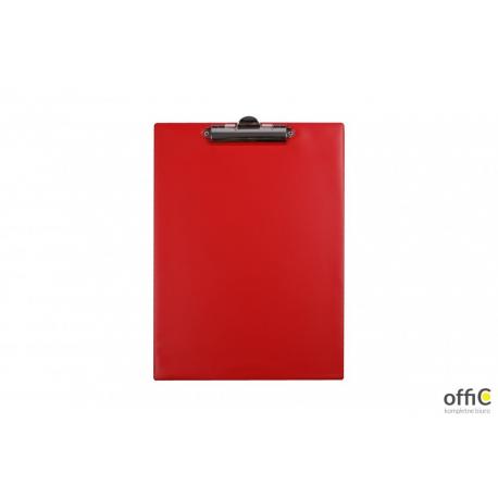 Deska z klipsem A4 czerwona KH-01-04 BIURFOL
