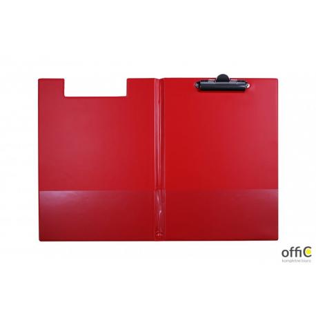 Teczka klip A5 czerwona KL-03 BIURFOL KH-03