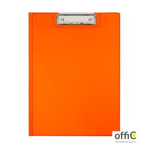 Teczka klip A5 orange KKL-03-04 BIURFOL