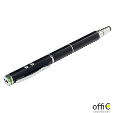 Długopis 4w1 LEITZ STYLUS 64140095 czarny wskaźnik mini latarka rysik