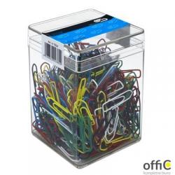 Spinacze kolor 26mm (500sztuk) VICTORY plastikowe pudełko