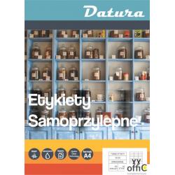 Etykieta samoprzylepna DATURA A4 (100ark) 105x42,4mm (14 etyk/arkuszu)