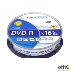 DVD-R ESPERANZA.4 7GB X16 CAKE BOX 10szt 1111