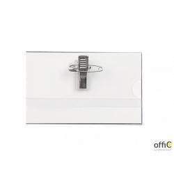 Identyfikator ARGO CT-123 na klips z agrafką