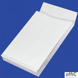 Koperty B4 HK białe 150g RBD (25szt.) NC z rozszerzanymi bokami
