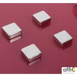 Bardzo mocne magnesy w kształcie kwadratu 6szt.AM150 2X3
