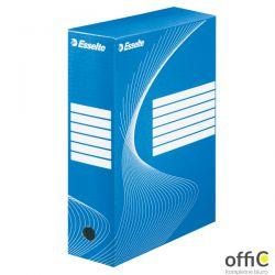 Pudełka archiwizacyjne ESSELTE BOXY 100mm niebieskie 128421