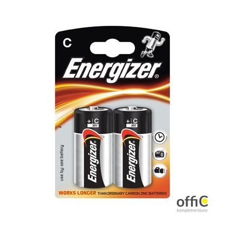 Bateria alkaliczna ENERGIZER INTELLIGENT LR14/C (2szt)