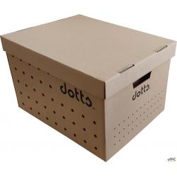 Pudło archiwizacyjne DOTTS zbiorcze (wieko+spód)