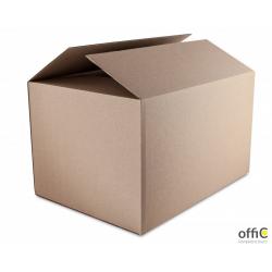 Karton wysyłkowy DOTTS 530x264x350 410g. tektura 3-warstwy szara
