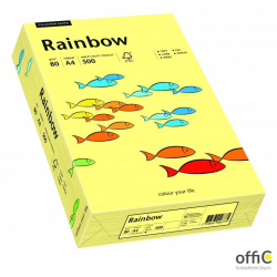 Papier xero kolorowy RAINBOW jasnożółty R12 88042297