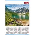 Kalendarze planszowe / trójdzielne 2021